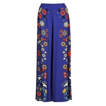 Textil Ženy Turecké kalhoty / Harémky Desigual CHIPRE Modrá