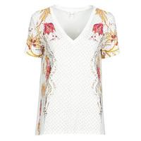 Textil Ženy Trička s krátkým rukávem Desigual PRAGA Bílá
