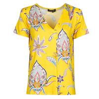 Textil Ženy Trička s krátkým rukávem Desigual LEMARK Žlutá