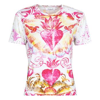 Textil Ženy Trička s krátkým rukávem Desigual TATTOO