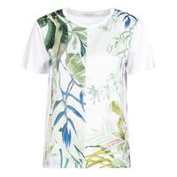 Textil Ženy Trička s krátkým rukávem Desigual BUDAPEST Bílá