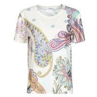 Textil Ženy Trička s krátkým rukávem Desigual POPASLEY Bílá