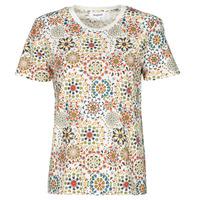Textil Ženy Trička s krátkým rukávem Desigual LYON Bílá