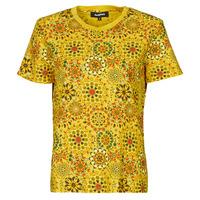Textil Ženy Trička s krátkým rukávem Desigual LYON Žlutá