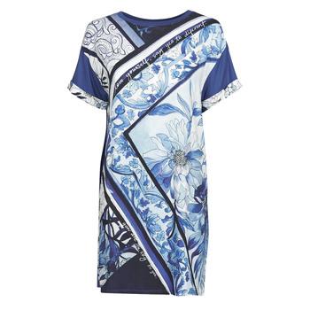 Textil Ženy Krátké šaty Desigual SOLIMAR Modrá