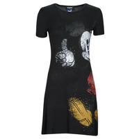 Textil Ženy Krátké šaty Desigual MICKEY Černá