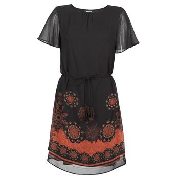 Textil Ženy Krátké šaty Desigual TAMPA Černá
