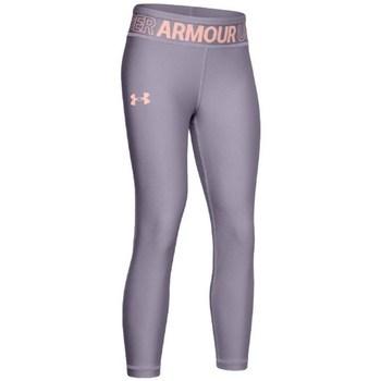 Textil Dívčí Legíny Under Armour HG Ankle Crop K Šedé