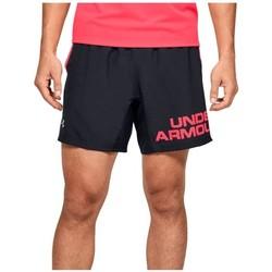 Textil Muži Kraťasy / Bermudy Under Armour Speed Stride Graphic 7 Shorts Černé