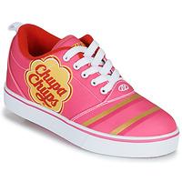Boty Dívčí Boty s kolečky Heelys CHUPA CHUPS PRO 20 Růžová / Bílá