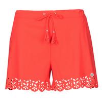 Textil Ženy Kraťasy / Bermudy Banana Moon MEOW Červená