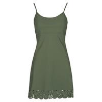 Textil Ženy Krátké šaty Banana Moon ALZETTE Khaki