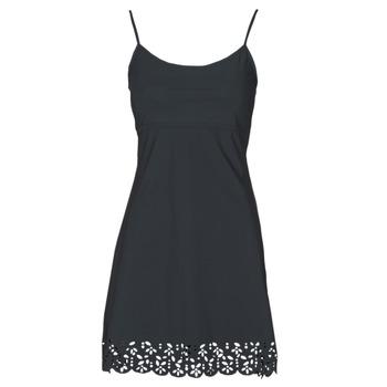 Textil Ženy Krátké šaty Banana Moon ALZETTE Černá
