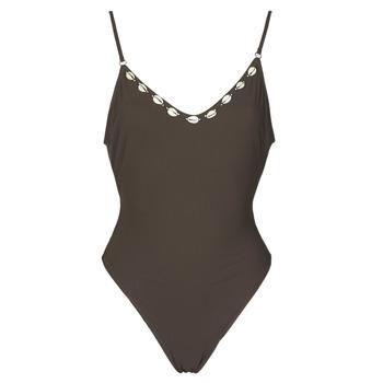Textil Ženy jednodílné plavky Banana Moon LAUMI Hnědá