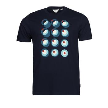 Textil Muži Trička s krátkým rukávem Ben Sherman TARGET CONSTRUCTION Tmavě modrá