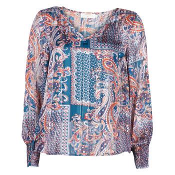 Textil Ženy Halenky / Blůzy Cream SHEENA BLOUSE Modrá
