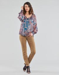 Textil Ženy Kapsáčové kalhoty Cream LOTTE PRINTED Béžová
