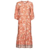 Textil Ženy Společenské šaty Cream JOHUI DRESS Oranžová