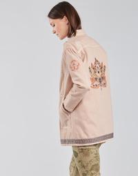 Textil Ženy Saka / Blejzry Cream OFELIA JACKET Růžová