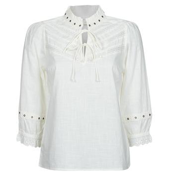 Textil Ženy Halenky / Blůzy Cream NITTY BLOUSE Béžová