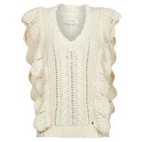 Textil Ženy Svetry Cream ANNOLINA KNIT SLOPOVER Bílá