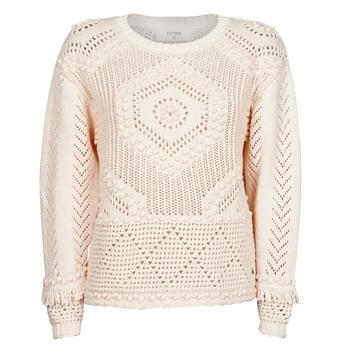Textil Ženy Svetry Cream CELESTE KNIT Béžová