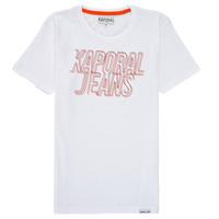 Textil Chlapecké Trička s krátkým rukávem Kaporal MAIL Bílá