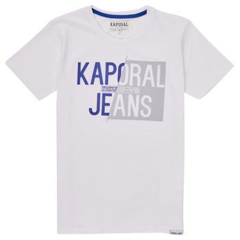 Textil Chlapecké Trička s krátkým rukávem Kaporal MAYO Bílá