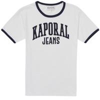 Textil Chlapecké Trička s krátkým rukávem Kaporal METRO Bílá
