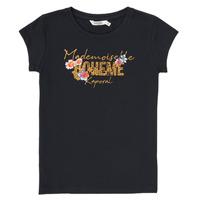 Textil Chlapecké Trička s krátkým rukávem Kaporal ELISA Černá