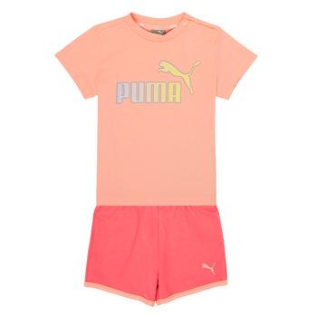 Textil Dívčí Set Puma BB SET ABRI Růžová