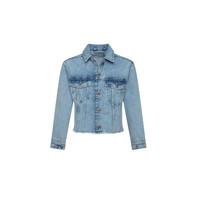 Textil Dívčí Riflové bundy Pepe jeans NICOLE JACKET Modrá