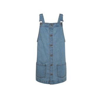 Textil Dívčí Krátké šaty Pepe jeans CHICAGO PINAFORE Modrá