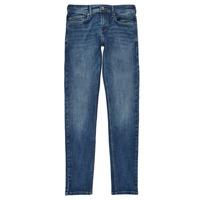 Textil Chlapecké Rifle skinny Pepe jeans FINLY Modrá