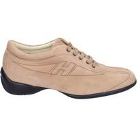 Boty Ženy Módní tenisky Hogan Sneakers Camoscio Beige