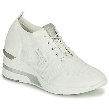 Boty Ženy Kotníkové tenisky Mustang THALIA Bílá