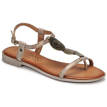 Boty Ženy Sandály Mustang ANITTA Bronzová