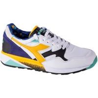 Boty Muži Nízké tenisky Diadora N9002 Kromadecka Bílé, Modré, Žluté