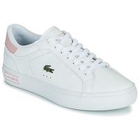 Boty Ženy Nízké tenisky Lacoste POWERCOURT 0721 2 SFA Bílá / Růžová
