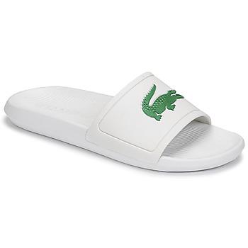 Boty Muži pantofle Lacoste CROCO SLIDE 119 1 CMA Bílá / Zelená