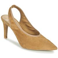 Boty Ženy Sandály Perlato 11819-CAM-CAMEL Velbloudí hnědá