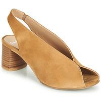 Boty Ženy Sandály Perlato 11803-CAM-CAMEL Velbloudí hnědá