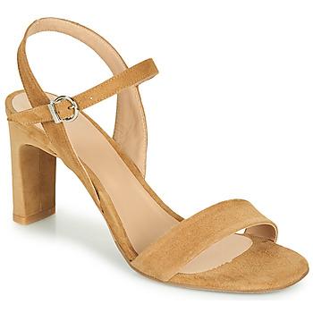 Boty Ženy Sandály Perlato 11797-CAM-CAMEL Velbloudí hnědá
