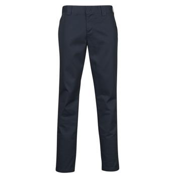 Textil Muži Kapsáčové kalhoty Dickies SLIM FIT WORK PNT Tmavě modrá