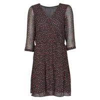 Textil Ženy Krátké šaty Moony Mood NOULINE Černá / Červená
