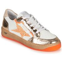 Boty Ženy Nízké tenisky Semerdjian ARTO Bílá / Oranžová