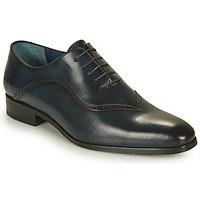 Boty Muži Šněrovací společenská obuv Brett & Sons MARINA Tmavě modrá