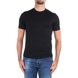 Textil Muži Trička s krátkým rukávem Cruciani CUJOSB G30 Černá