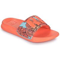 Boty Dívčí pantofle Reef KIDS ONE SLIDE Oranžová