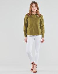 Textil Ženy Kapsáčové kalhoty Freeman T.Porter ALEXA CROPPED S-SDM Bílá